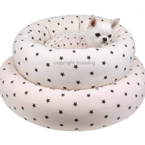 panier star house rose pour chien louisdog auberdog. Black Bedroom Furniture Sets. Home Design Ideas