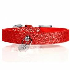 Collier Stardust rouge