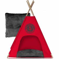 teepee social club gris pour chien noox panier et. Black Bedroom Furniture Sets. Home Design Ideas