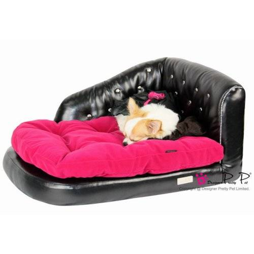 banquette pretty rose pour chien pretty pet auberdog. Black Bedroom Furniture Sets. Home Design Ideas