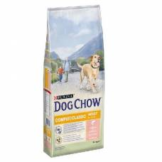 Croquettes Dog Chow Adult Complet Saumon
