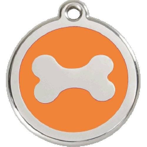 m daille red dingo orange motif os pour chien reddingo auberdog. Black Bedroom Furniture Sets. Home Design Ideas