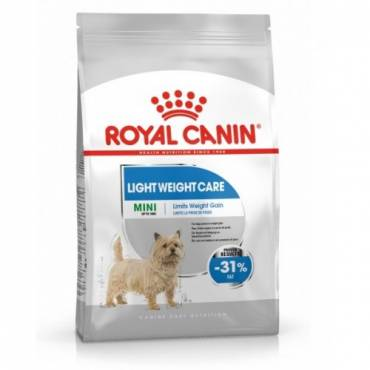 Croquettes Mini Light Weight Care pour chien - Royal Canin