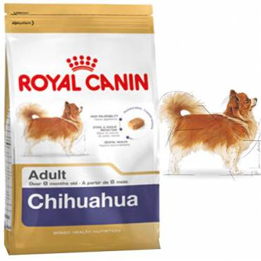 royal canin croquettes chihuahua adult pour chien royal canin auberdog. Black Bedroom Furniture Sets. Home Design Ideas