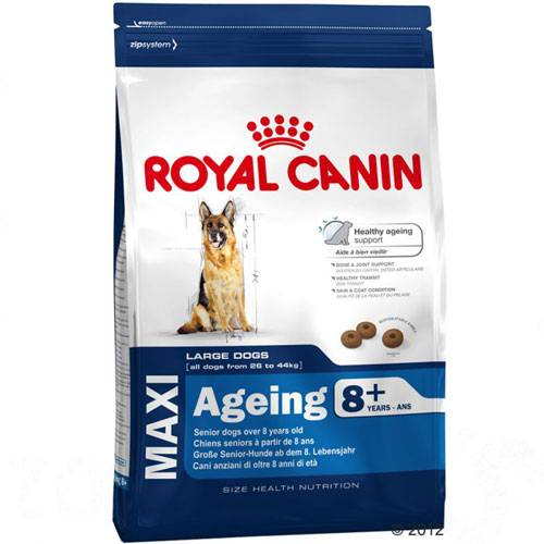 croquettes maxi ageing 8 pour chien royal canin auberdog. Black Bedroom Furniture Sets. Home Design Ideas