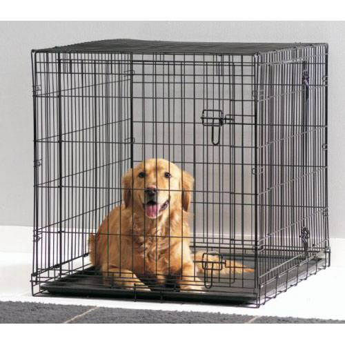 cage dog cottage 107 cm pour chien savic auberdog. Black Bedroom Furniture Sets. Home Design Ideas