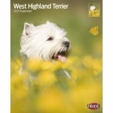 Calendrier West Highland Terrier 2021