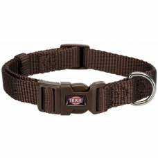 Collier chien Premium marron