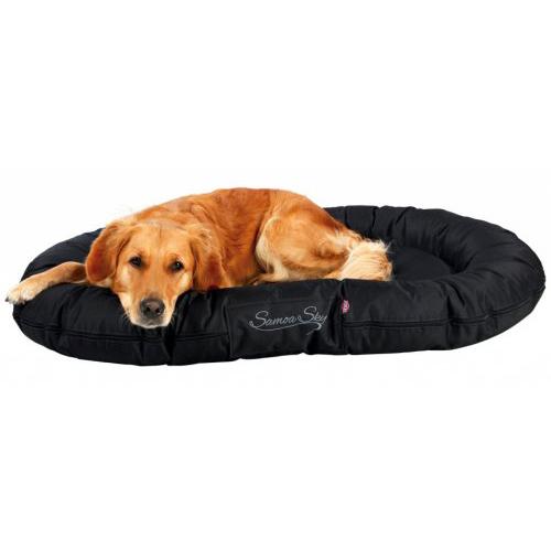coussin samoa sky classique noir pour chien trixie auberdog. Black Bedroom Furniture Sets. Home Design Ideas