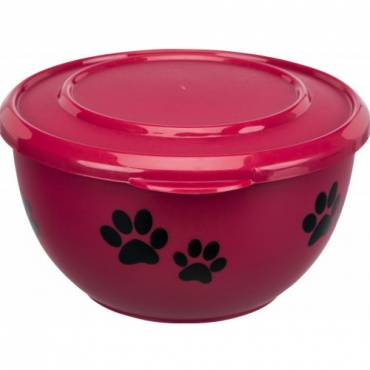 gamelle fresh feed bordeaux avec couvercle pour chat trixie auberdog. Black Bedroom Furniture Sets. Home Design Ideas