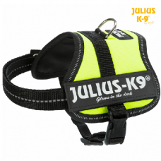 Harnais Power Julius-K9 Baby Mini VERT FLUO