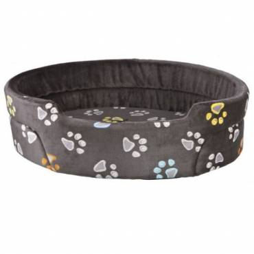 Panier Jimmy taupe pour chien - 1