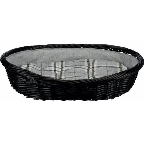 panier osier tress gris pour chien trixie auberdog. Black Bedroom Furniture Sets. Home Design Ideas
