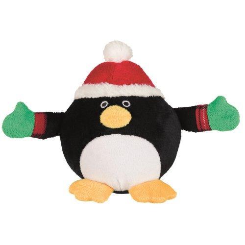 Peluche boule Pingouin de Noël pour chien - Trixie | Auberdog