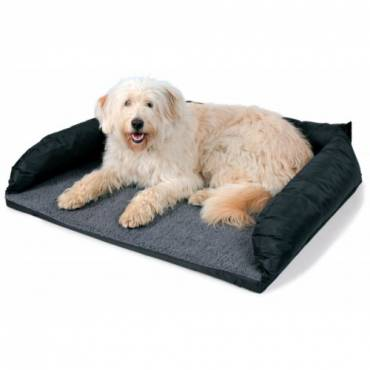 protection coffre de voiture fourrure pour chien trixie auberdog. Black Bedroom Furniture Sets. Home Design Ideas