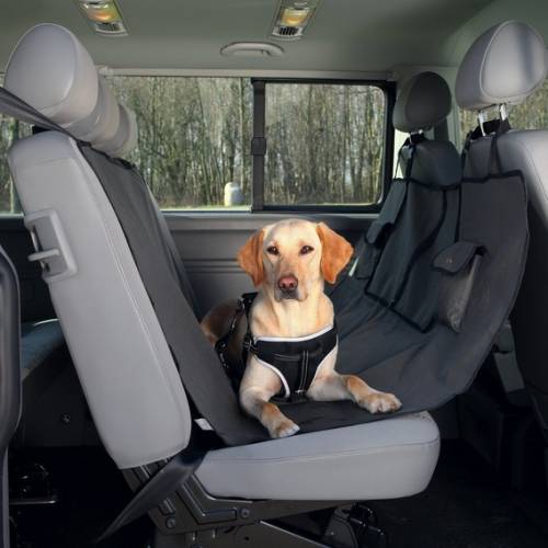 prot ge si ge de voiture avec 2 poches pour chien trixie auberdog. Black Bedroom Furniture Sets. Home Design Ideas