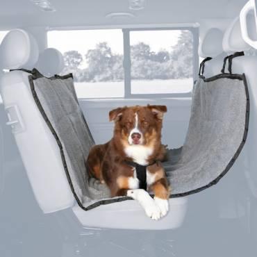 prot ge si ge de voiture gris pour chien trixie auberdog. Black Bedroom Furniture Sets. Home Design Ideas