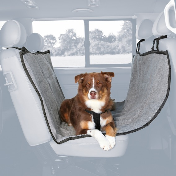 prot ge si ge de voiture gris pour chien trixie auberdog. Black Bedroom Furniture Sets. Home Design Ideas