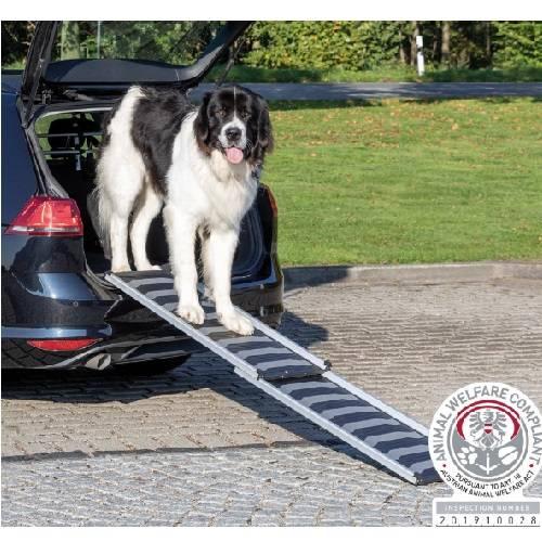 t/élescopique Rampe pliable pour chien