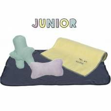 Set Junior couverture gris