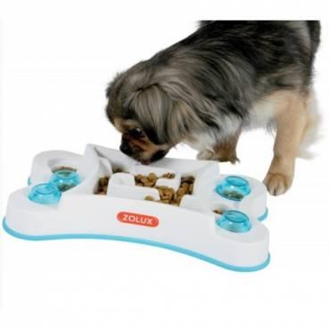 gamelle anti glouton rectangle pour chien zolux auberdog. Black Bedroom Furniture Sets. Home Design Ideas