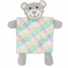 Peluche Puppy XS Plaid gris