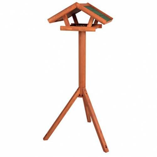 mangeoire oiseau sur pied natura en bois pour oiseau natura auberdog. Black Bedroom Furniture Sets. Home Design Ideas