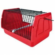 Cage panier de transport rouge Friends on Tour