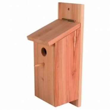 Kit de construction nid bois pour oiseau pour oiseau for Construction bois 87