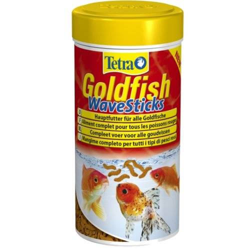 Goldfish wave sticks poissons rouges pour poisson tetra for Nourriture a poisson