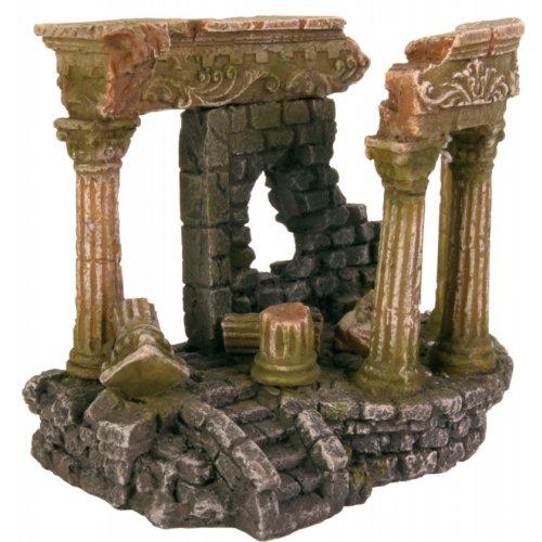 D cor aquarium ruine romaine 13cm pour poisson trixie for Decoration romaine