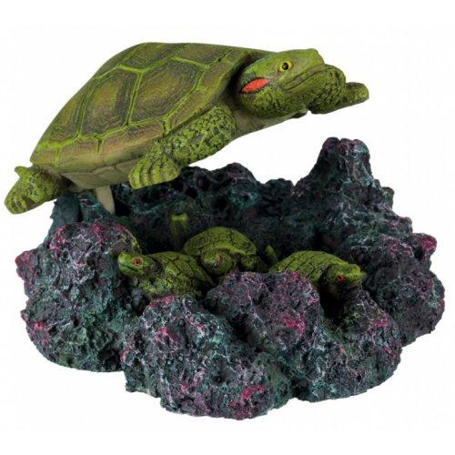 D cor aquarium tortue avec sortie d 39 air pour poisson trixie auberdog - Aquarium complet pour tortue d eau ...