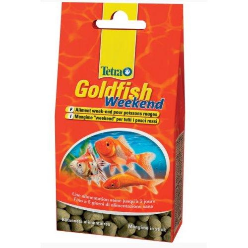 Goldfish week end pour poisson rouge pour poisson tetra for Goldfish nourriture