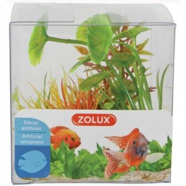 Plantes plastique aquarium color pour poisson zolux for Aquarium zolux