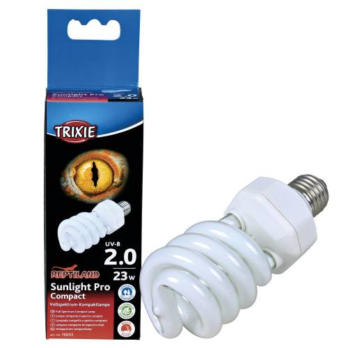 lampe uv terrarium sunlight pro compact 2 0 pour reptile trixie auberdog. Black Bedroom Furniture Sets. Home Design Ideas