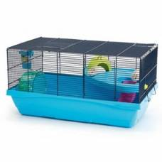 Cage rongeur Mickey large bleu