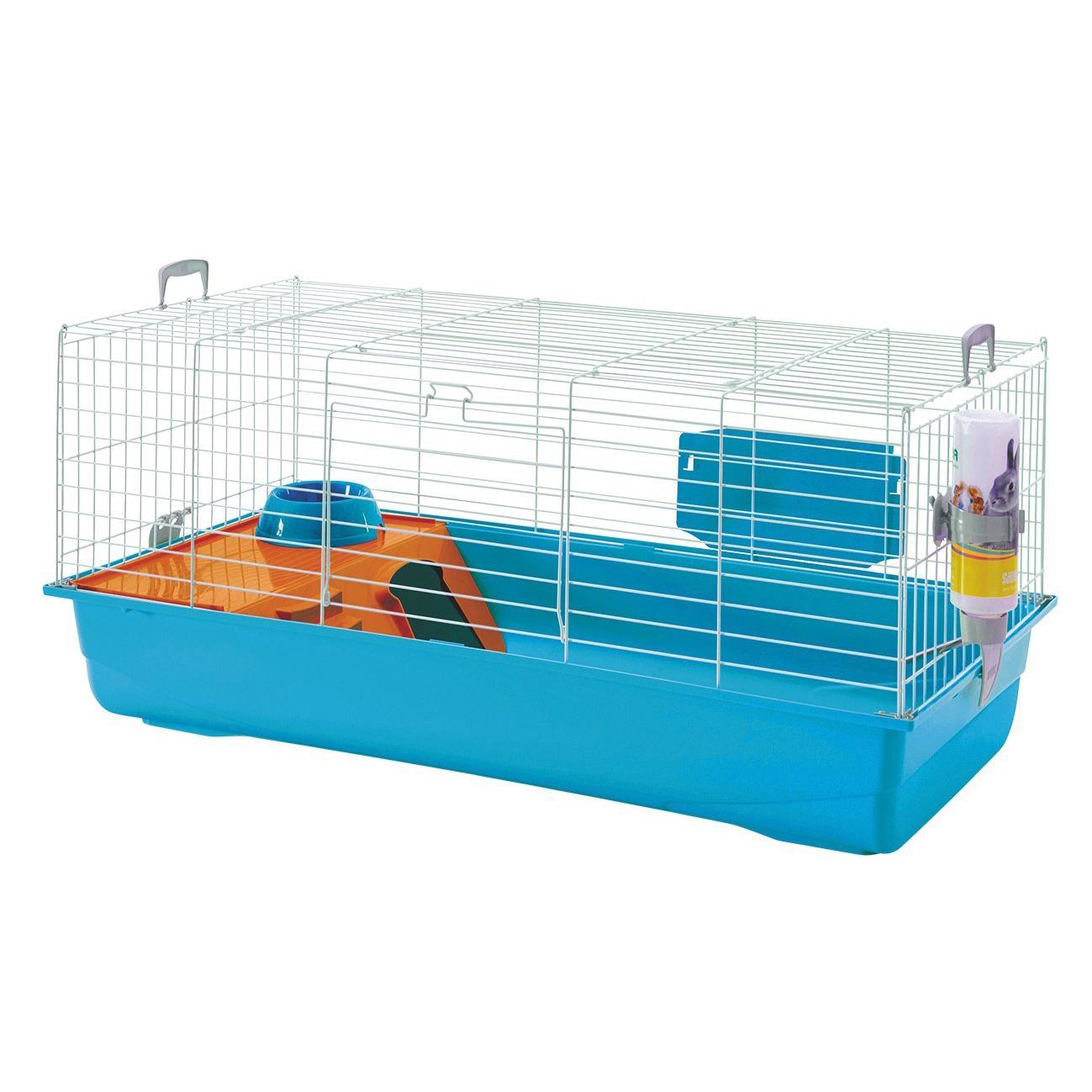 cage rongeur nero 3 de luxe bleu pour rongeur savic. Black Bedroom Furniture Sets. Home Design Ideas