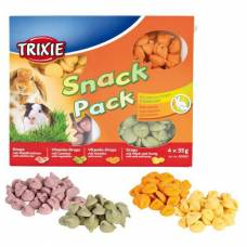 Friandises Snack Pack lapin cochon d'Inde