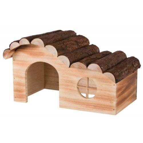 maison hanna en bois pour chinchilla et cochon d 39 inde pour. Black Bedroom Furniture Sets. Home Design Ideas