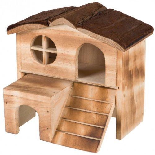 Maison Kasja en bois pour souris et hamster pour rongeur