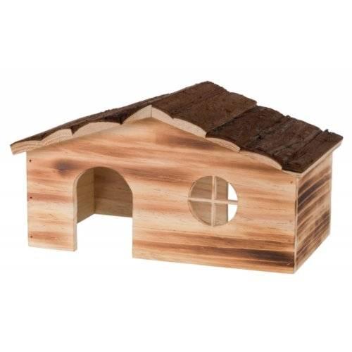 maison ragna en bois pour chinchilla et cochon d 39 inde pour. Black Bedroom Furniture Sets. Home Design Ideas